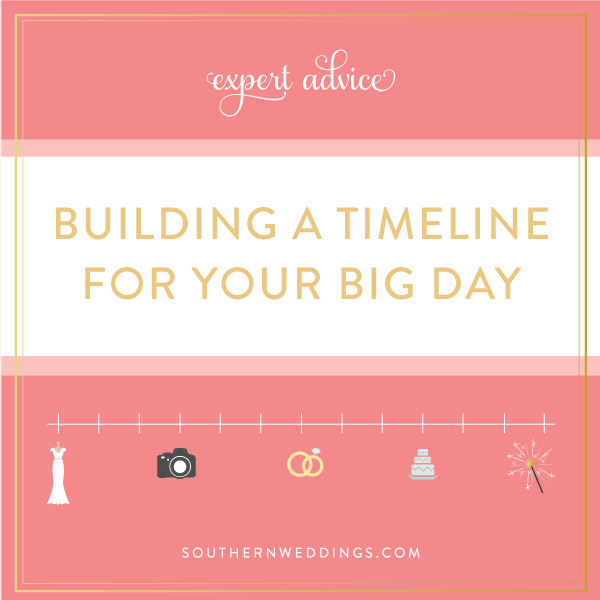 Building Your Wedding Day Timeline