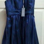 Navy Blue Bridesmaids Dress