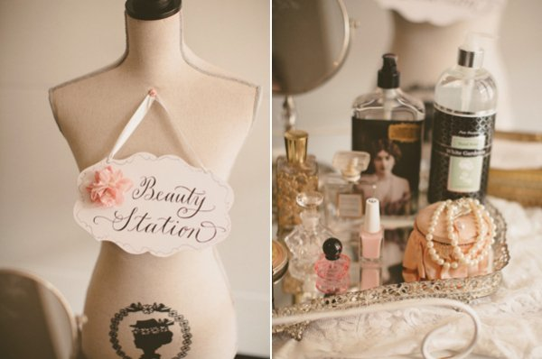 Wedding Beauty Station