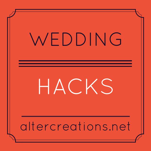 Life-Saving Wedding Hacks